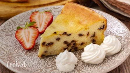 Ricotta magic cake: here's a trick you have to try!