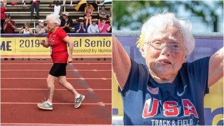 Ha 103 anni ed è la nonnina più veloce del mondo: i suoi consigli per vivere bene e a lungo