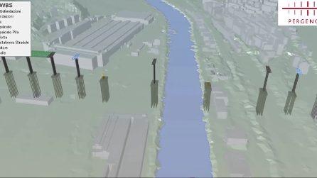 Le principali fasi di costruzione del nuovo ponte di Genova