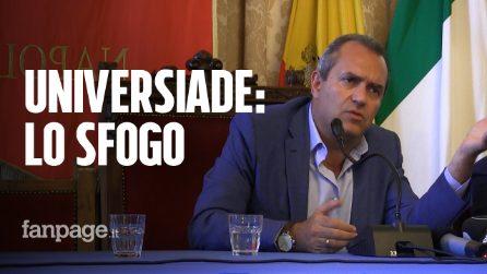 """Universiadi 2019, De Magistris: """"De Luca come il dittatore Ceaucescu, nessuno ci mette le mani in testa"""""""