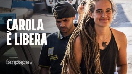 Carola Rackete libera: perché i giudici non hanno convalidato il fermo per la capitana di Sea Watch