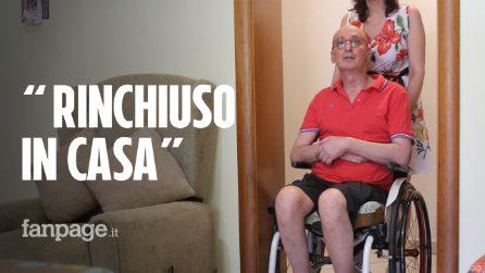 """Giovanni: """"Ho la sclerosi multipla e sono rinchiuso in casa perché mi hanno vietato il montascale"""""""
