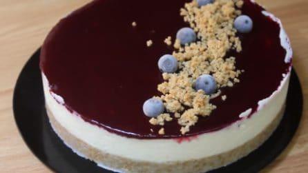 Cheesecake ai frutti di bosco: il dessert fresco e senza cottura