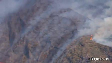 Violenta eruzione a Stromboli: paura,turisti in fuga, una vittima