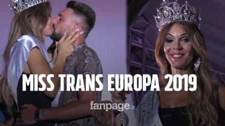 """Alessia Cinquegrana è Miss Trans Europa 2019: """"Ora sogno di poter crescere una bimba con mio marito"""""""