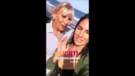 Gemma Galgani e Giulia De Lellis annunciano l'inizio delle riprese di Giortì