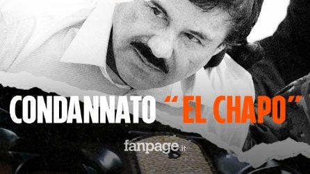 """Joaquin """"El Chapo"""" Guzman: condanna all'ergastolo più 30 anni di carcere al celebre narcotrafficante"""