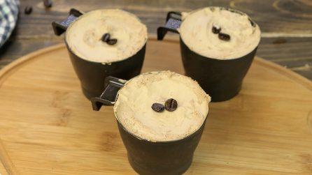 Coppa gelato di caffè fatta in casa: non la comprerete più!