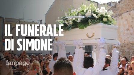 A Vittoria lacrime per il piccolo Simone D'Antonio, al funerale anche Luigi Di Maio