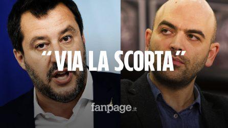 """Salvini annuncia la nuova direttiva sull'assegnazione delle scorte: """"Via a chi non ne ha bisogno"""""""