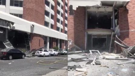 Esplosione all'Università del Nevada: crolla parte di un dormitorio