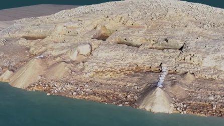 Una parte del fiume si asciuga per la siccità: gli archeologi fanno una scoperta sensazionale