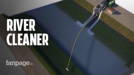 River Cleaner, il progetto di cinque studenti per pulire i fiumi dalla plastica