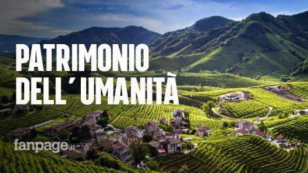 Le colline del Prosecco premiate dall'Unesco: sono patrimonio mondiale dell'umanità
