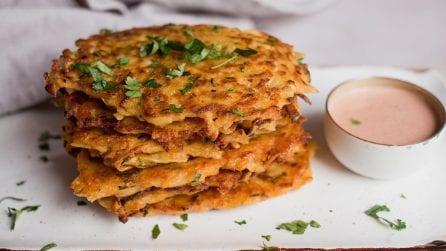 Frittelle di patate grattugiate: facili e veloci da preparare!