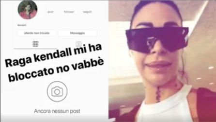 """Valentina Dallari bloccata su Instagram da Kendall Jenner: """"Sono sconvolta"""""""