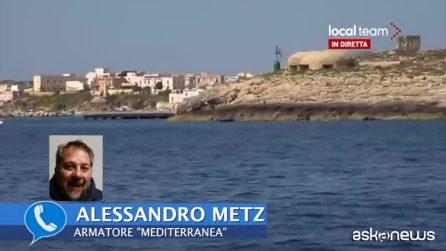 Migranti, armatore Mediterranea: agiamo nel quadro del diritto