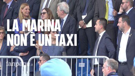 """Migranti, Salvini: """"Navi della Marina non sono taxi"""". Di Maio: """"Si sente solo? Gli daremo peluche"""""""