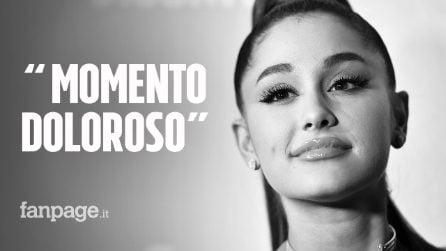 """Il significato delle lacrime di Ariana Grande durante il suo Sweetener Tour: """"Momento molto duro"""""""