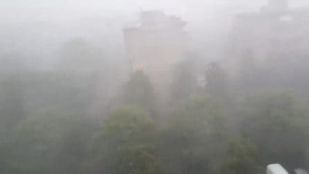 Allerta maltempo: piogge monsoniche e grandine su Bergamo e valli