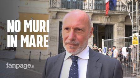 """Comandante De Falco: """"Blocco navale è un bluff di Salvini. Non si possono mettere muri in mare"""""""