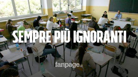 Invalsi, risultati disastrosi degli studenti italiani: cresce il divario tra Nord e Sud