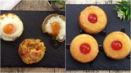 Tante ricette sfiziose e veloci da preparare in una teglia per muffin!