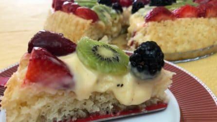 Torta babà con limoncello e frutta: un dolce al quale sarà impossibile resistere