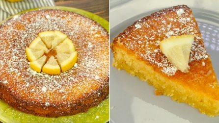 Torta caprese al limone: la variante cremosa e fresca passo dopo passo!