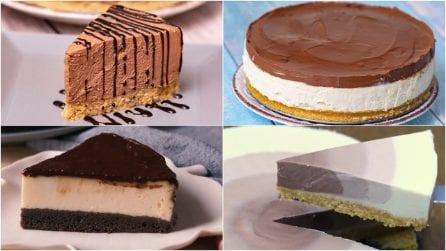 4 cheesecake al cioccolato golose: troppo buone per non provarle!