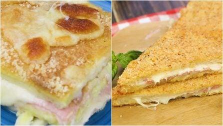 Ricette che puoi preparare con il pancarrè che non siano toast!