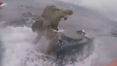 I marines inseguono il sottomarino dei narcos: incredibile come riescono a fermarlo