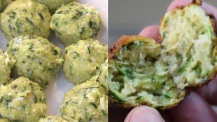 Polpette di zucchine super gustose: una tira l'altra