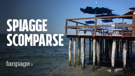 """Le spiagge scomparse di Ostia e Fregene, stabilimenti in ginocchio: """"L'erosione ci sta distruggendo"""""""