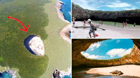 """Si chiama """"Hidden beach"""", la spiaggia nascosta più surreale del pianeta. Ecco come arrivarci"""