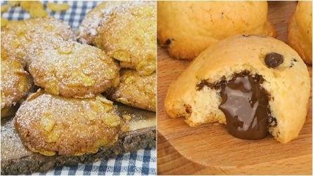 4 ricette sfiziose per dei biscotti facili e veloci da preparare!