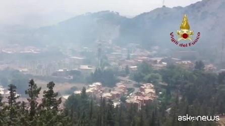 Incendi, in Sicilia anche le Forze armate contro i roghi