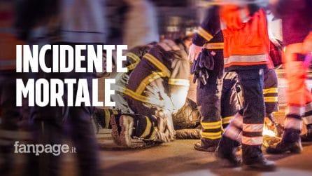 Incidente stradale a Trapani: morto 13enne, grave il fratellino. Il papà fa video prima di schianto