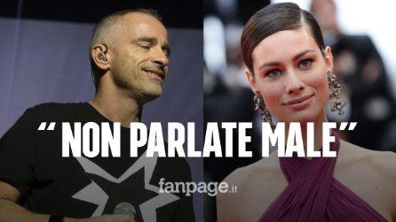 """Insultata sui social, Eros Ramazzotti difende Marica Pellegrinelli: """"È una mamma bravissima"""""""