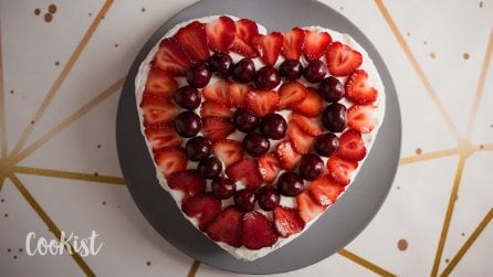 Heart cake: the secret to make it in the simplest way ever!