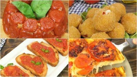 4 ricette deliziose che potrete realizzare con dei semplici pomodori!