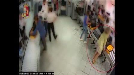Torino, in coda in aeroporto prende un Rolex e un bracciale ai controlli: manager nei guai