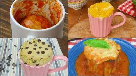 4 ricette da preparare direttamente in una tazza!