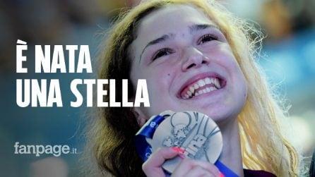 Benedetta Pilato, argento a 14 anni ai Mondiali di nuoto: chi è la nuova promessa del nuoto azzurro