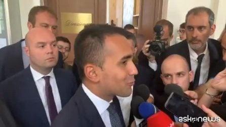 """Tav, Di Maio: """"La Lega senza il Pd non ha i numeri per farla"""""""