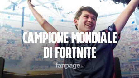 Il campione mondiale di Fornite è KyleGiersdorf, ha 16 anni e ha vinto 3 milioni di dollari