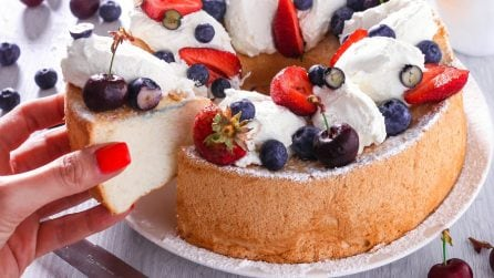 Angel cake: la torta più soffice e leggera di sempre