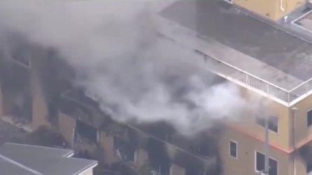 Giappone, appicca il fuoco in un edificio: ci sono vittime e feriti