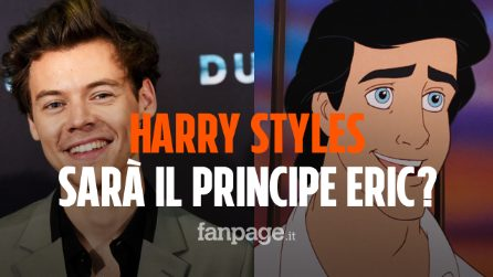"Harry Styles nel live-action de ""La Sirenetta"": l'ex One Direction sarà il principe Eric?"