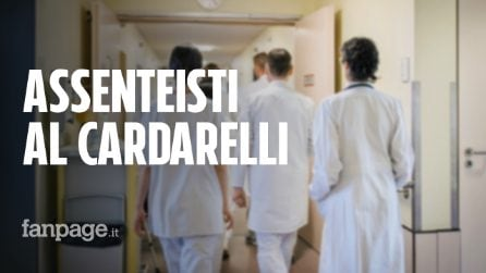 Assenteisti al Cardarelli: un bambino timbra il cartellino al posto della mamma, le immagini